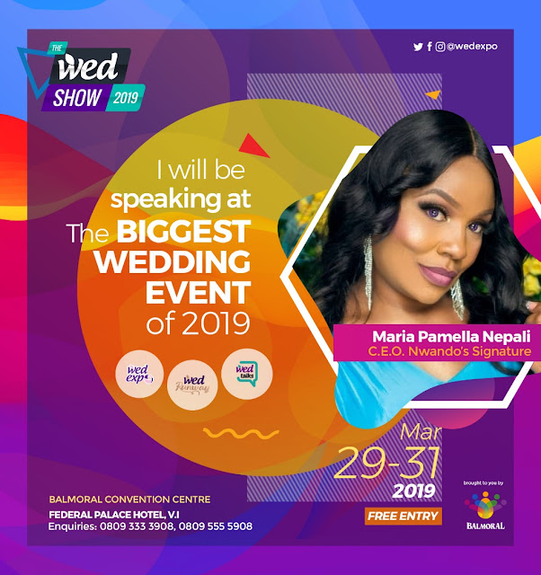 Meet Wedding Vendors, Learn from experts and see fashion trends at The WED Show 2019 ? March 29th to 31st