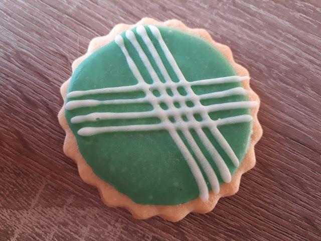 Keks der Woche: Scalloped Kreis in Mint
