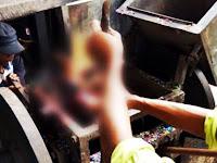 Tragis, Sariman Tewas Tergiling Mesin Pencacah Sampah Plastik Hingga Hancur