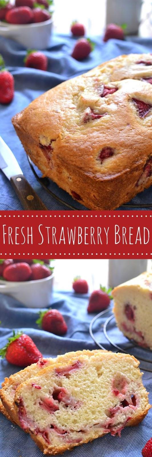 Fresh Strawberry Bread