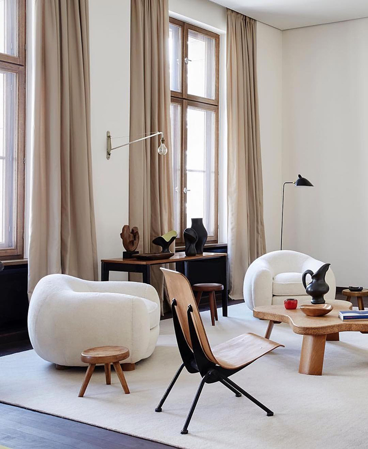 The beautiful Berlin home of Emanuel de Bayser via asplundklingstedtinterior