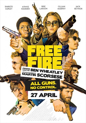Free Download Free Fire 2017 English HDCAM  700MB