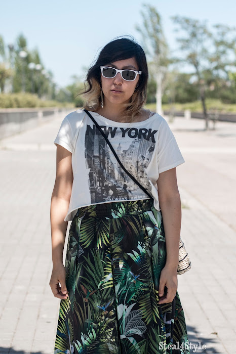 Falda tropical sport | CASUAL SPORTY LOOK