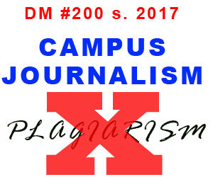 2018 National Press Conference - Plagiarism in Campus Journalism