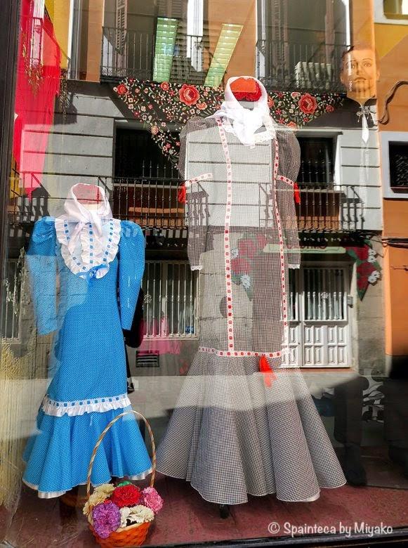 Fiestas San Isidro マドリード守護聖人サン·イシドロ祭り用の女性用伝統衣装