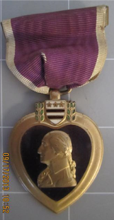 Purple Heart awarded to Tali Esen Waters
