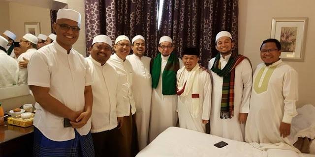 4 Negara yang dikunjungi Habib Rizieq dalam pelarian
