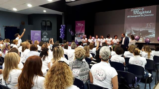 Resultado de imagen de 'IV Encuentro de Mujeres en el Transporte' fuerteventura