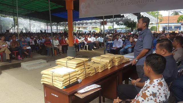 Ribuan Peserta Rebutan Jadi Anggota PPS OKI