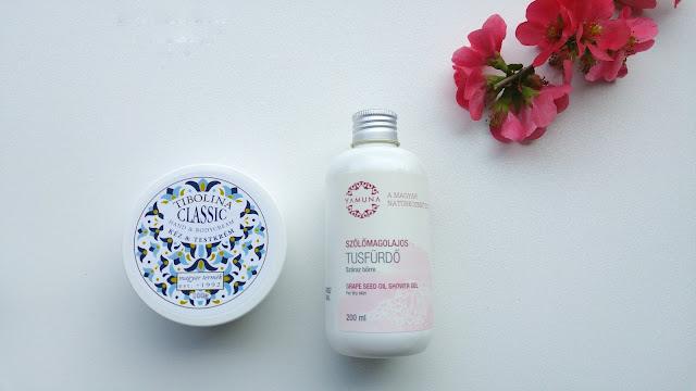 Krémmánia Beauty Box - Yamuna szőlőmagolajos tusfürdő