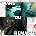 Qual a diferença entre um Remake e um Remastered?