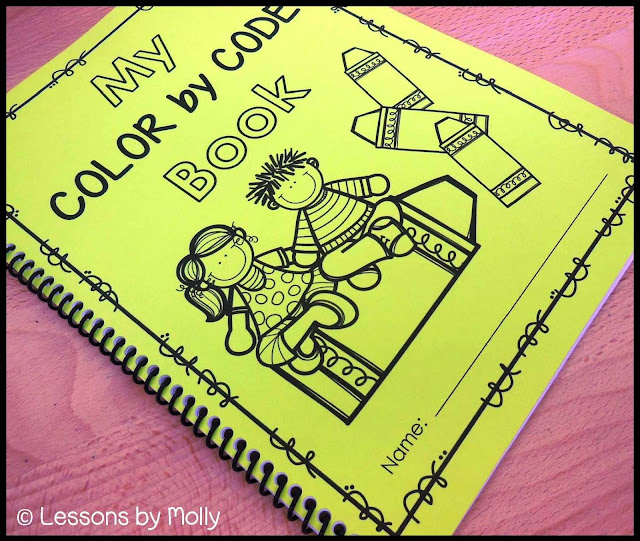These color by code sight word printable sheets are suitable for first and second graders that are learning new high frequency words on a weekly basis.  This color by code bundle contains 18 pages and included three themes.  Each color by code page targets six to nine Fry words.  There is a key for students to follow which directs them to color sections on a picture.  Color by code sight words are a great way to allow students to work independently while increasing Fry word knowledge.