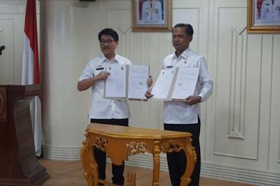 Pemprov Lampung Kerjasama dengan Pemprov Sumut  Penerapan E-Planing dan E-Budgeting