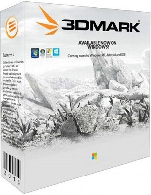 Futuremark 3DMark Professional 2.3.3732 poster box cover