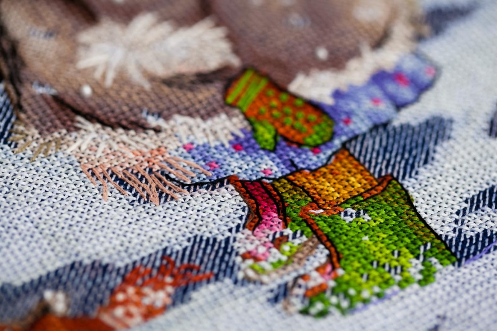 h qо схему вышивки кошки