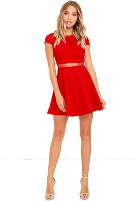 Vestidos rojos para señoritas