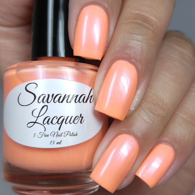 Savannah Lacquer - Orange Cream Taffy