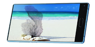 this is the outset smartphone of Japanese  Panasonic Eluga C launched amongst bezel-less display
