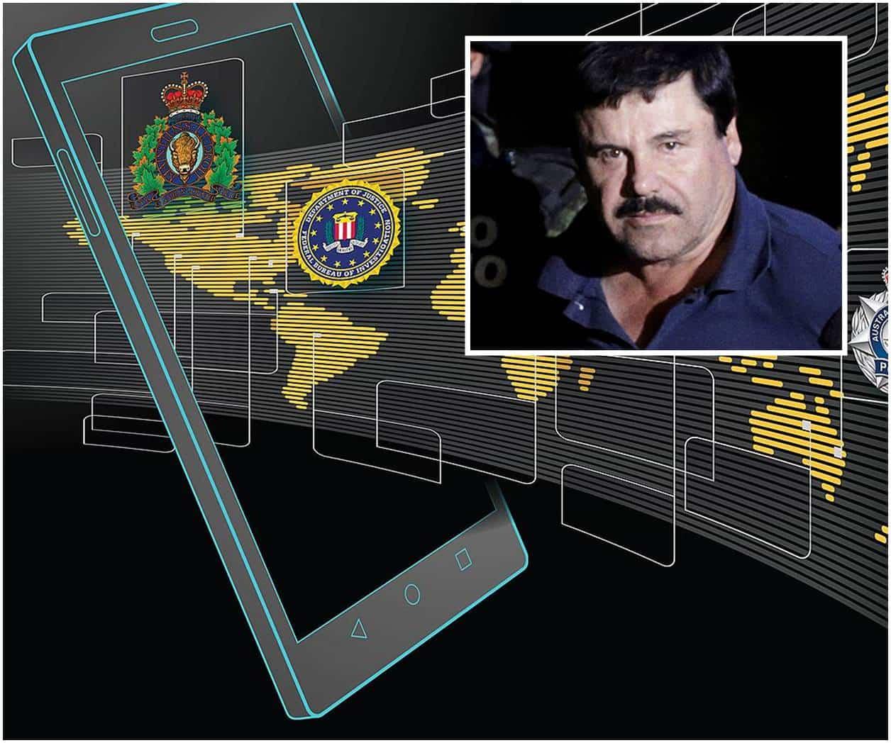 Estos son los celulares encriptados del Cártel de Sinaloa