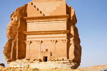 Tourist Attractions in Madain Saleh in Madinah, Saudi Arabia