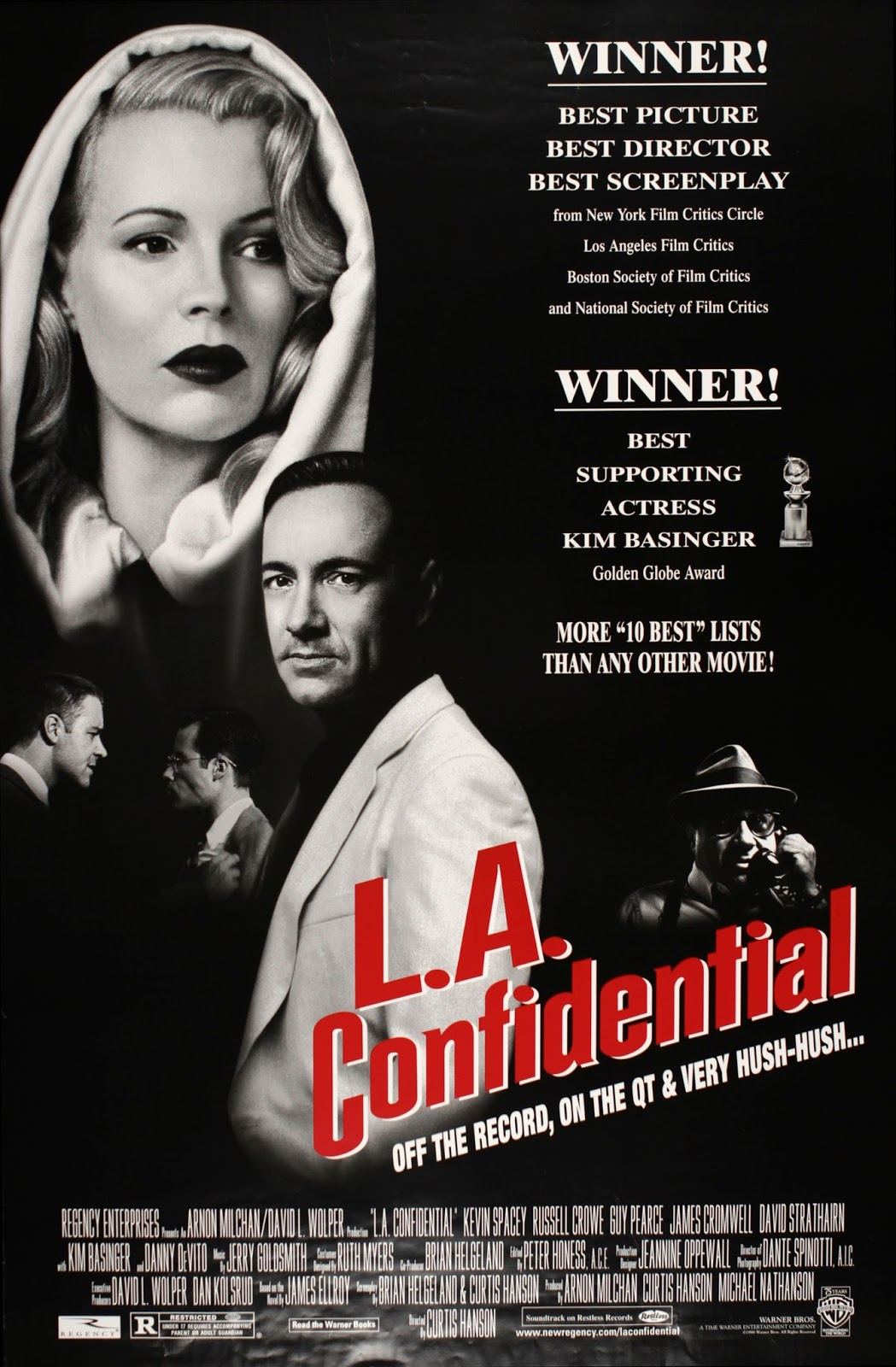 a review of the movie la confidential directed by curtis hanson La confidential 1997 movie hd free download download la confidential full movie 720p high quality, this movie is listed in our software for download with subtitles.