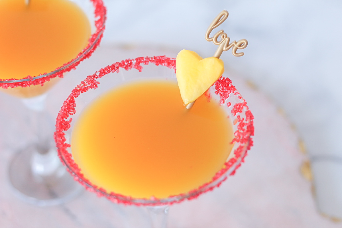 Mango Elderflower Martini