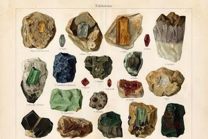 Pengertian Umum Mineral dan Fungsi Mineral