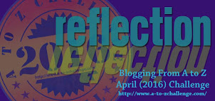 Reflections ~ A to Z Challenge 2016