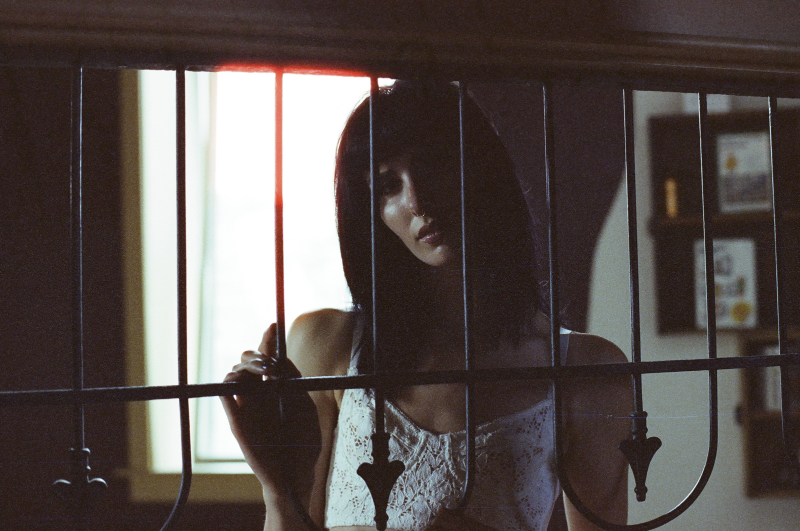 Jillian Xenia Cinestill Film 800  portraits