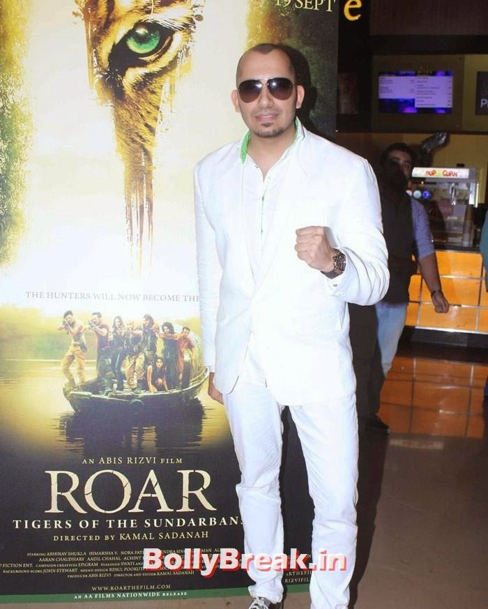 Ali Quli Mirza, Celebs at 'Roar' Movie First Look Launch