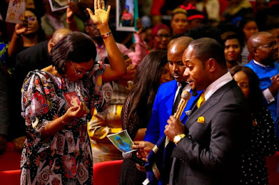 "Photos;Nollywood star Oge Okoye visits Popular South African Pastor, Alph Lukau of ""Pamela Why"" fame"