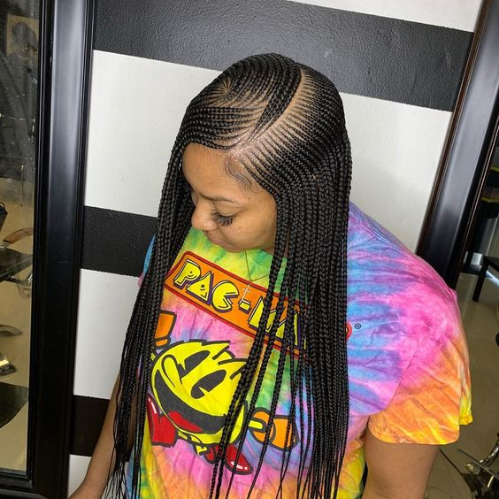 Latest Hairstyles For Black Women New Ghana Weaving Braided Hairstyles 2020