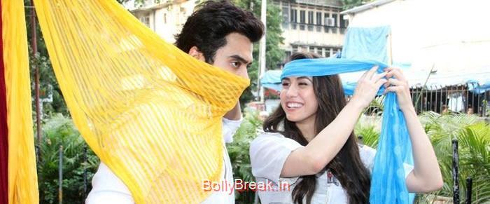 Jackky Bhagnani, Lauren Gottlieb, Hot HD Images of Lauren Gottlieb Promoting Welcome To Karachi