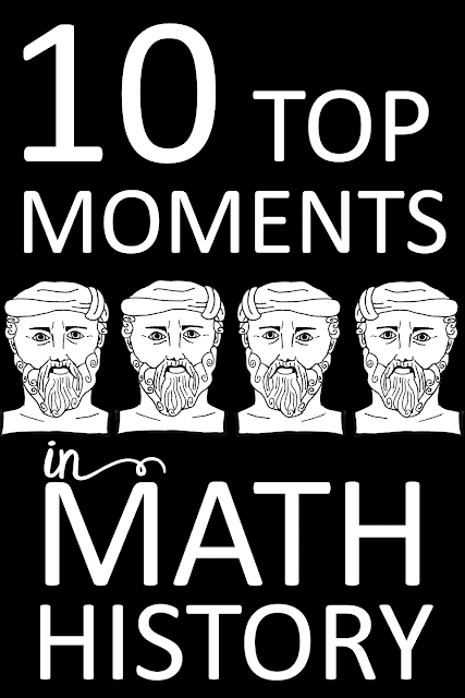 top 10 moments in math history