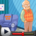 G4K Cute Grandfather Rescue Game Walkthrough