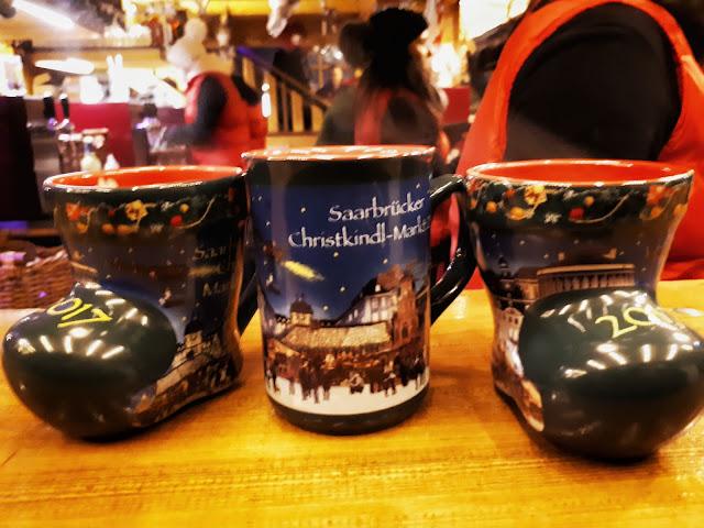 Saarbrücken Christmas market gluhwein