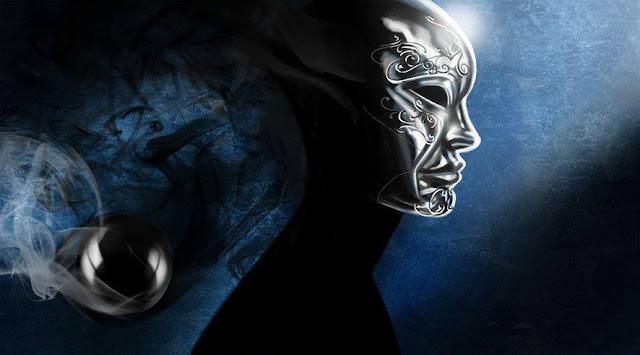 Imagen de la máscara  de plata de uno de los protagonistas de Zero