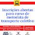 Curso para motoristas de transporte coletivo é oferecido pela BeloTran