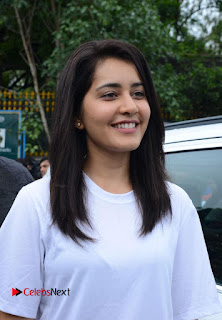 Actress Raashi Khanna Pictures at Haritha Haram Event  0001