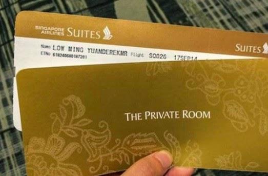 ΘΑ ΠΑΘΕΤΕ ΠΛΑΚΑ: Ταξιδεύοντας με το αεροπορικό εισιτήριο των 23.000 δολαρίων...[photos]