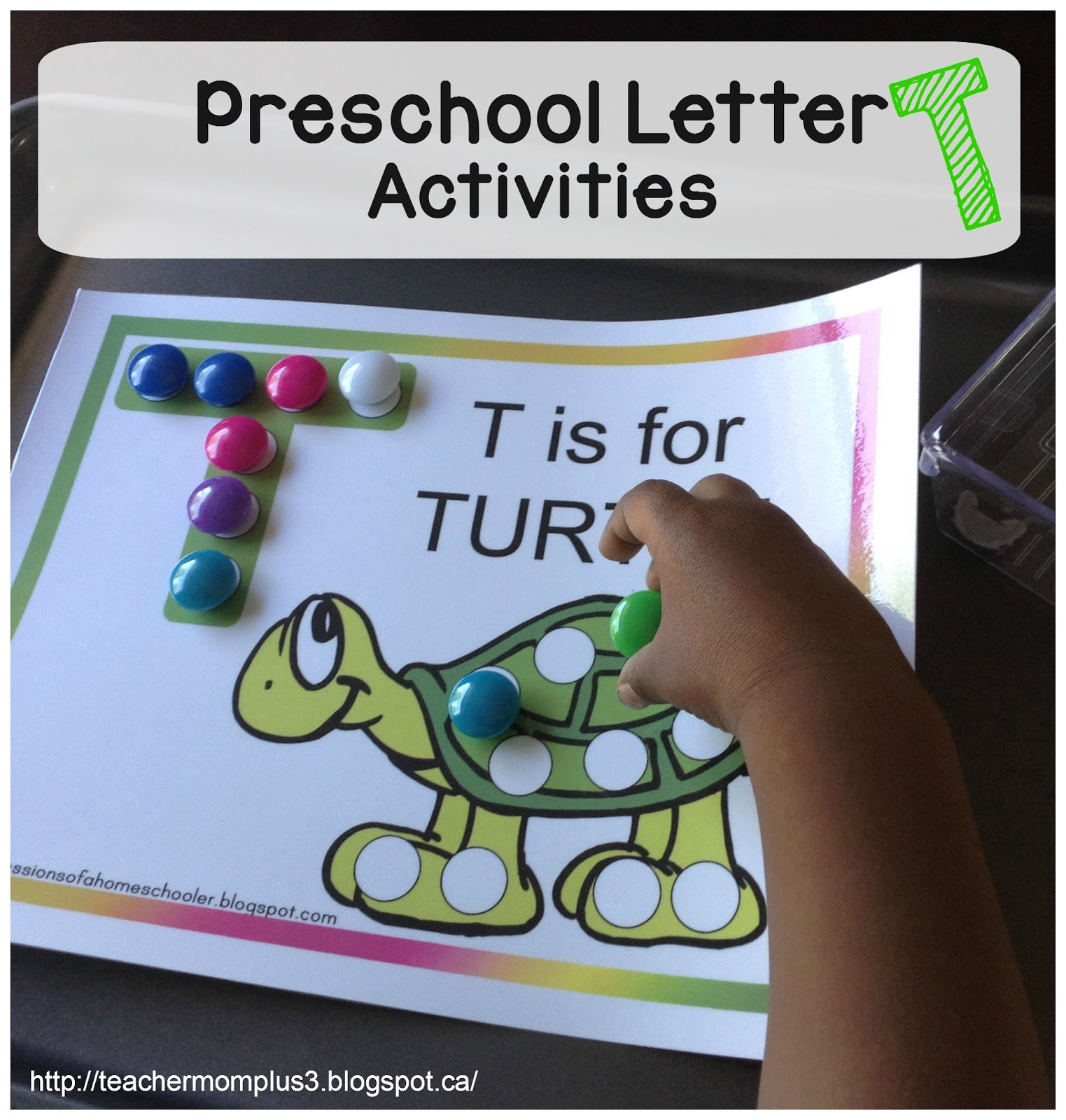 Teachermomplus3 Preschool Letter T Activities
