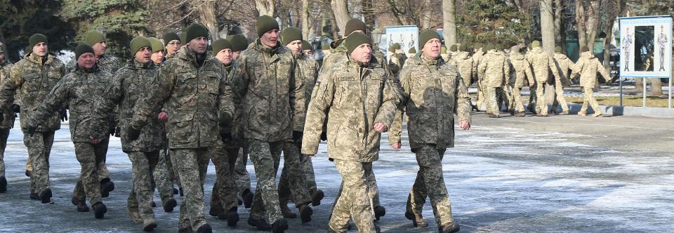 У Повітряних Силах ходили стройовим кроком з нагоди переходу на стандартами НАТО