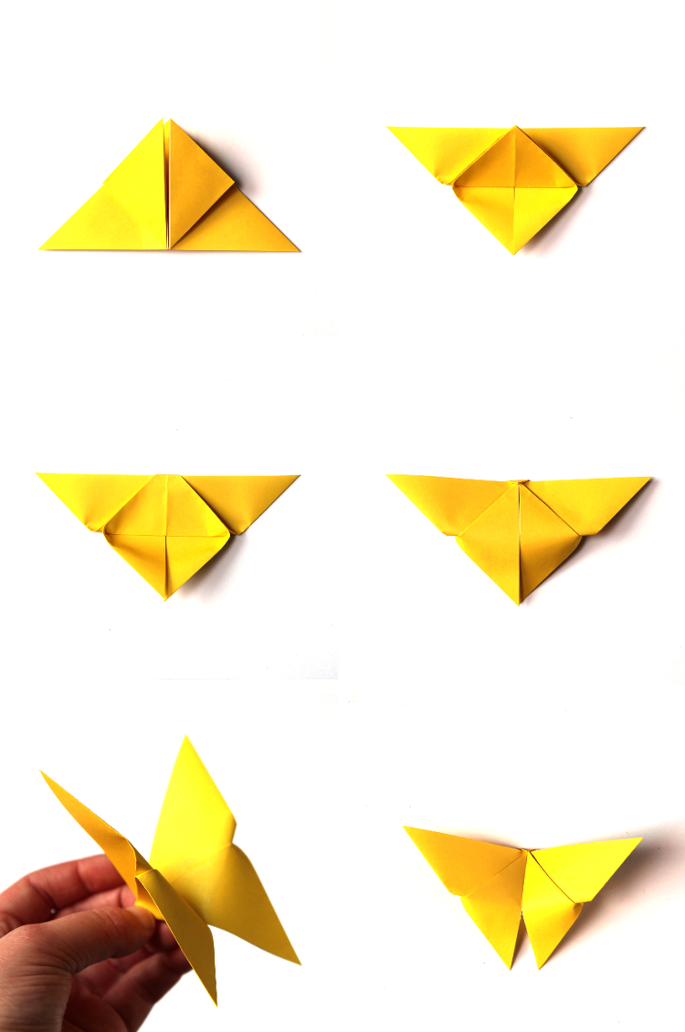 MAKE IT MONDAY: EASY ORIGAMI BUTTERFLIES. | Gathering Beauty - photo#41