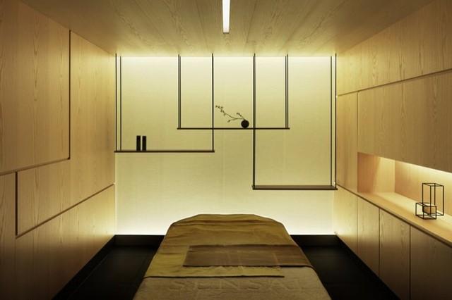 ديكورات غرف نوم خشبية
