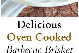 Delicious Oven Cooked Barbecue Brisket