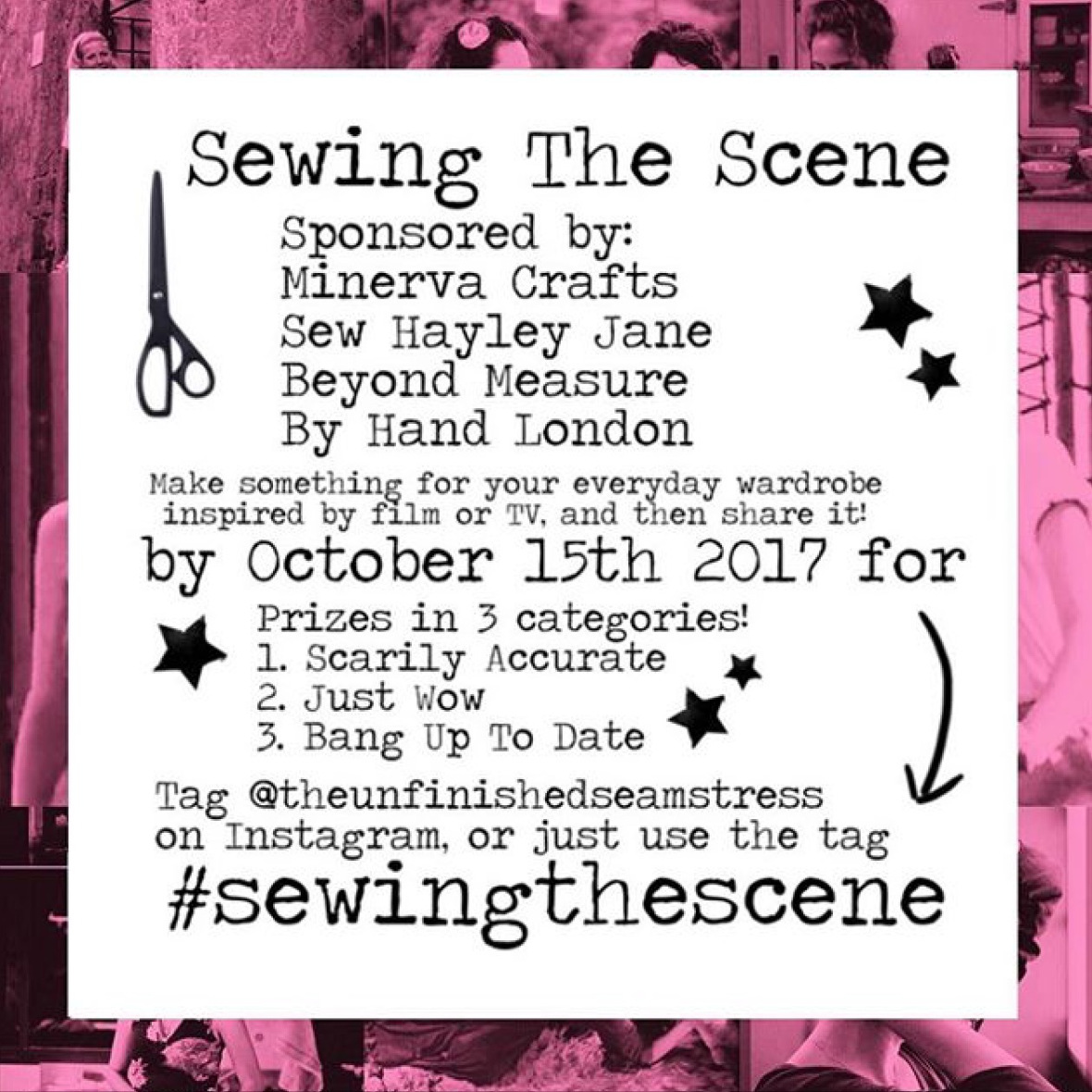Sewing The Scene challenge