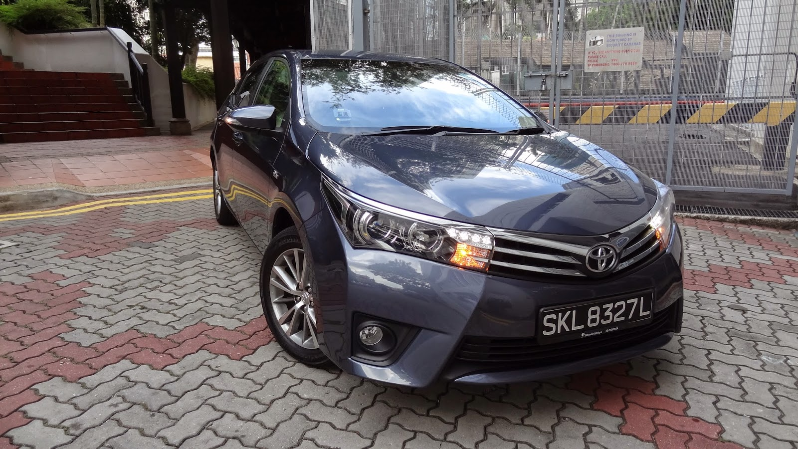 All New Corolla Altis Review Grand Veloz 1.5 Shaun Owyeong The Toyota  A Legend