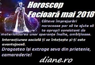 Horoscop mai 2018 Fecioară