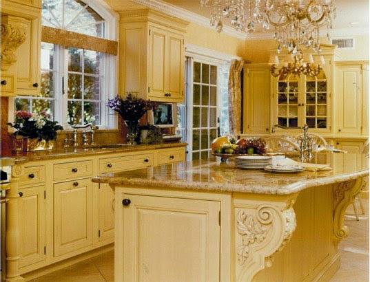 fotos de cocinas tradicionales colores en casa
