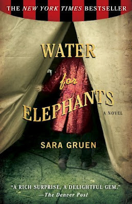 Water for Elephants by Sara Gruen - book cover
